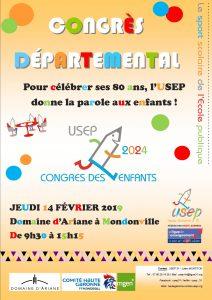 Affiche congrès départemental