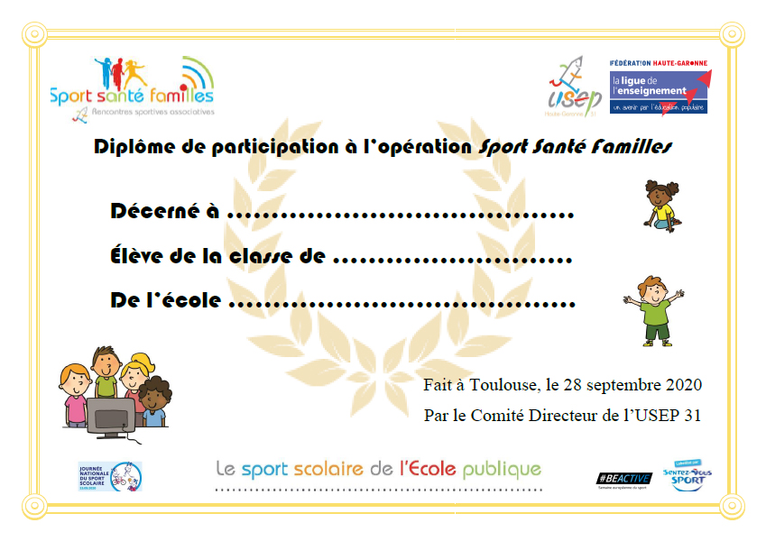diplome rencontres sportives)